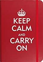 Keep Calm & Carry on (Small Format Journal)