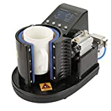 Mug Heat Press Machine, Pneumatic Auto Cup Heat Press Printer Transfer Sublimation Machine...