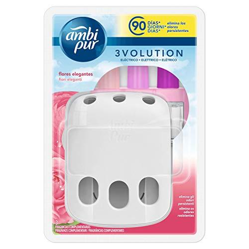 Ambi Pur 3Volution Ambientador Aparato y Recambio Tono Elegante - 21 ml