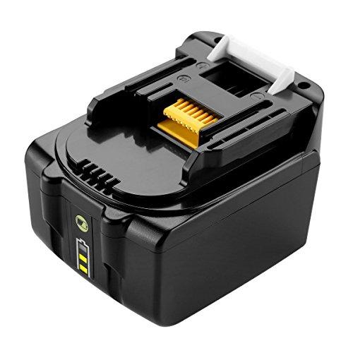 Preisvergleich Produktbild URUN 14, 4 V 3000mAh Lithium-Ionen-Akku mit LED-Batterieanzeige Ersatz für makita BL1415 BL1430 BL1440 bl1415 N 196875 4 194558 0 195444 8 196388 5