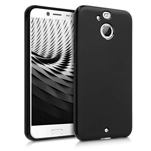 kwmobile HTC 10 evo Hülle - Handyhülle für HTC 10 evo - Handy Case in Schwarz matt