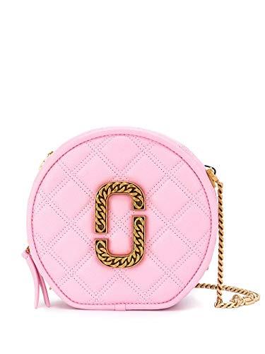 Luxury Fashion | Marc Jacobs Dames M0015815668 Roze Leer Schoudertassen | Lente-zomer 20