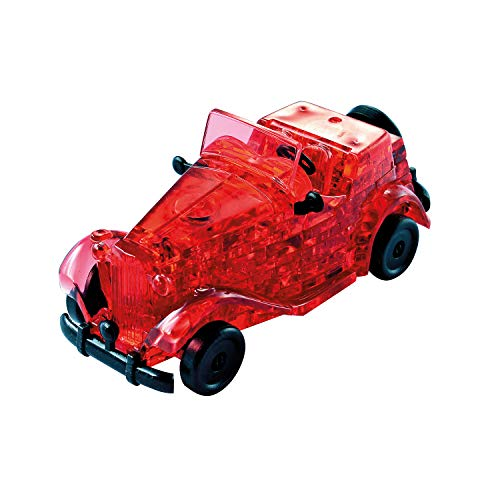 HCM Kinzel Jeruel 59135 - Crystal Puzzle - Oldtimer, rot