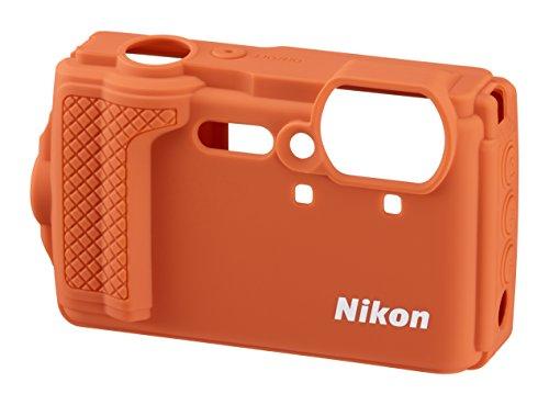 Nikon VHC04802 Estuche para cámara fotográfica - Funda (Funda, Nikon, COOLPIX W300, Naranja)