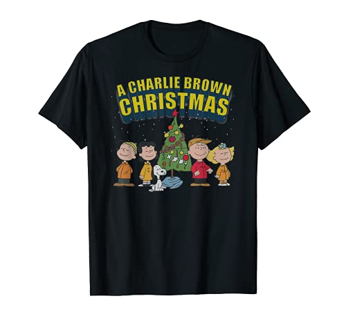 Peanuts Charlie Brown Christmas Special T-shirt