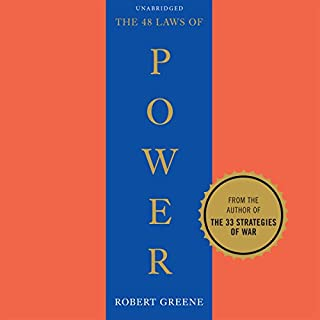 48 Laws of Power                   Written by:                                                                                                                                 Robert Greene                               Narrated by:                                                                                                                                 Richard Poe                      Length: 23 hrs and 6 mins     39 ratings     Overall 4.5