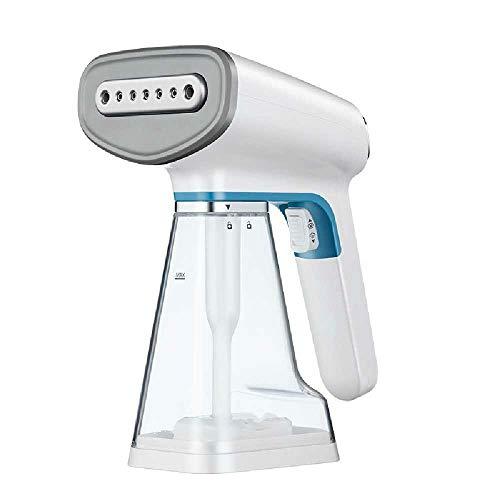 ZJB Vaporizador de mano para ropa antiarrugas, tecnología de impulso, ajustes de vapor duales, vertical y horizontal, antigoteo, vaporizador de ropa para el hogar, removedor de arrugas, color blanco