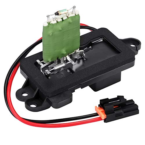 TTIIHOT Compatible with 89019089 HVAC Blower Motor Fan Resistor 1999-2007 Silverado GMC 1500 2500 3500 HD w/Manual Air Conditioning, Replaces 22807122, 973-004, 89018597