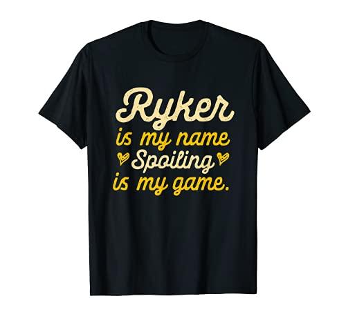 Ryker is My Name Divertido Nombre Humor Apodo Camiseta
