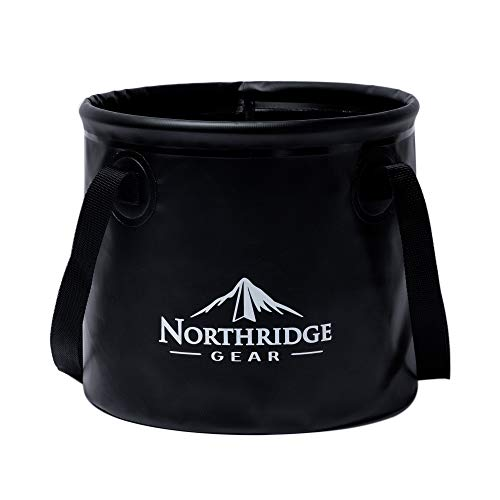 Northridge Gear Cubo Plegable Plegable en diseño Moderno | Camping Pesca Fiesta...