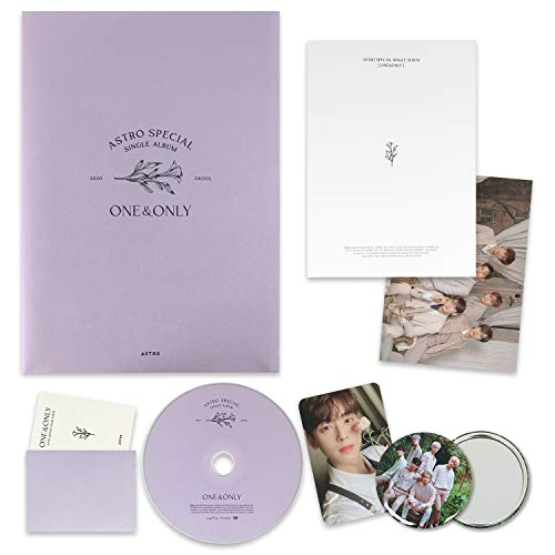 ASTRO Speical Single Album - [ ONE&ONLY ] CD + Booklet + Message Card + Group Postcard + Selfie Photocard + OFFICIAL POSTER + FREE GIFT / K-pop Sealed