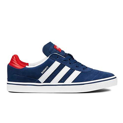 adidas Busenitz Vulc ADV - Skateboarding para hombre, Azul (Mystery Blue-ftwr White-scarlet), 36 EU