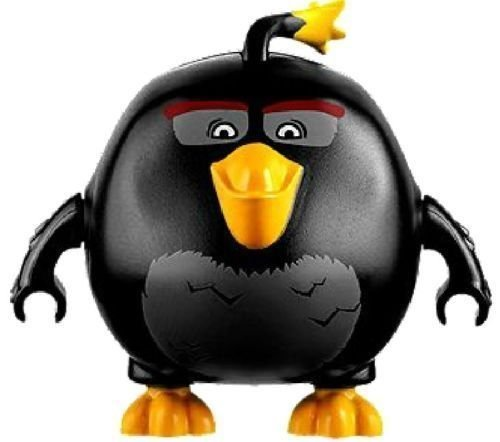 LEGO Angry Birds Movie Black Bird Minifigure - Bomb Bird (75825) by LEGO