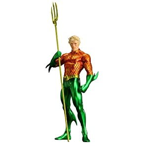 Kotobukiya DC Comics The New 52 Justice League Aquaman ARTFX Statue 8