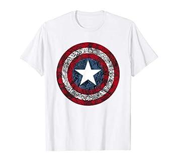 Marvel Captain America Avengers Shield Comic C1 T-Shirt