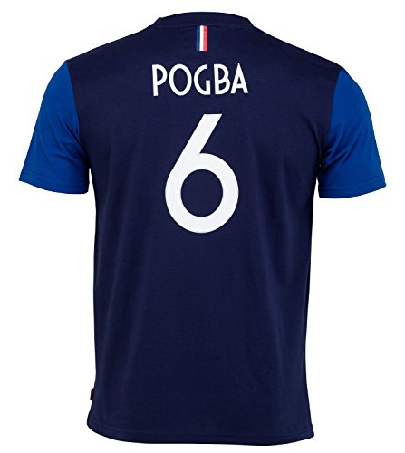 Camiseta oficial de la selección francesa de fútbol de Paul Pogba, talla...