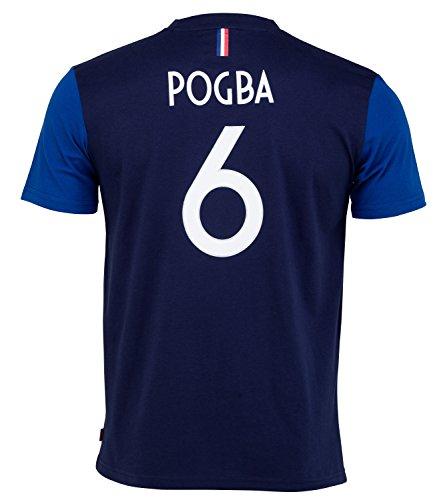 Equipe de FRANCE de football T-Shirt FFF - Paul Pogba - Collection Officielle Taille Homme L