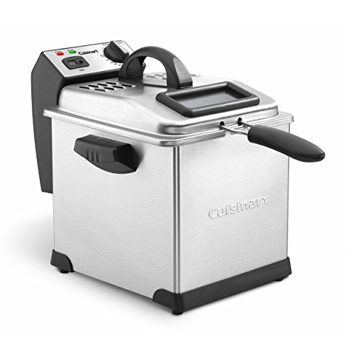 Cuisinart CDF-170 3.4-Quart Deep Fryer, Stainless Steel