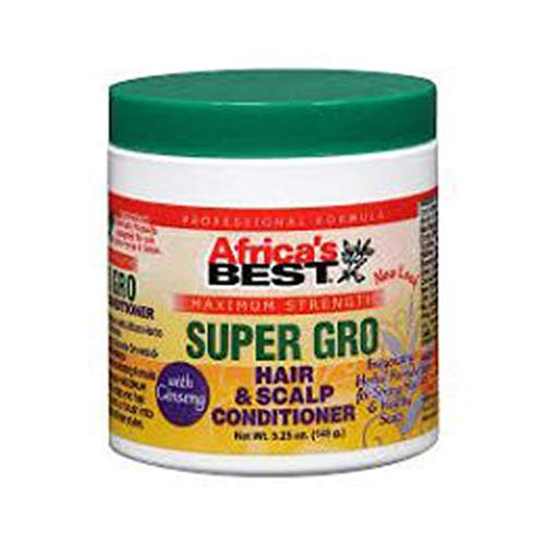Africa's Best Super-Gro Maximum Hair & Scalp Conditioner
