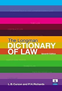 Valuepack the Longman Dictionary of Law/Better Law Essays:Tools & Techniques for Success in 2 Exams & Assignments/Letters ...