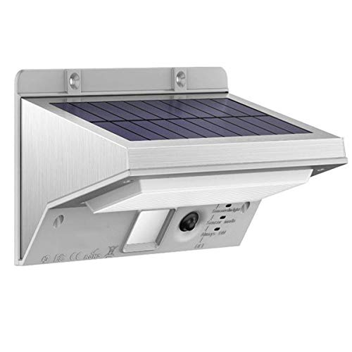 iThird Solar Motion Sensor Light Outdoor 21 LED 330LM (Luce Diurna)