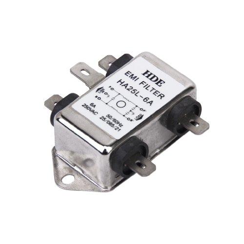 Netzfilter Power EMI Filter HA25L-6A 50/60Hz 250V AC