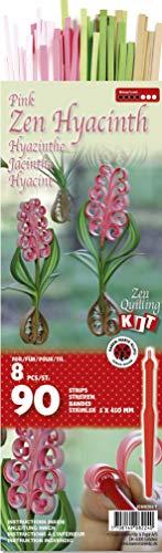 Karen Marie Klip: Hyazinth pink, Zen Quilling Kit