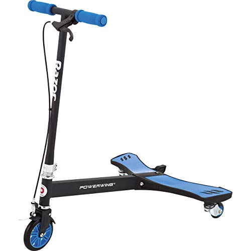 Razor PowerWing Caster Scooter  Blue