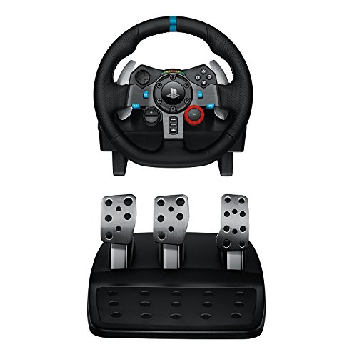 Logitech Driving Force G29 Racing Wheel for PlayStation 4 and PlayStation 3 (Renewed)