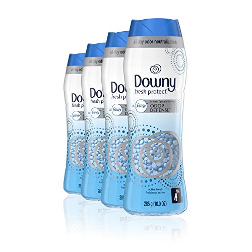 4-Ct 10-Oz Downy Fresh Protect in-wash Scent Booster Beads (Febreze Odor Defense) $9.30 w/ S&S + Free Shipping w/ Prime or on $25+
