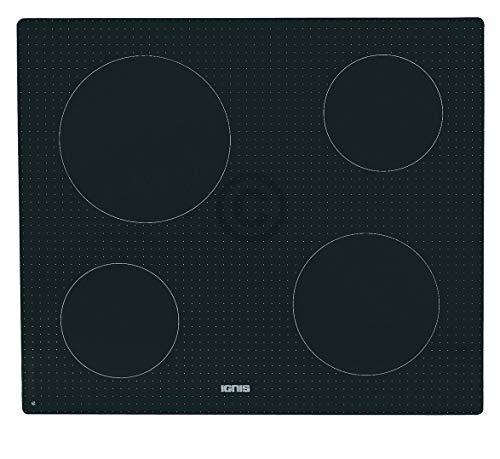 Glaskeramikplatte für Kochfeld 580x510 mm Ignis Bauknecht Whirlpool 481010496981