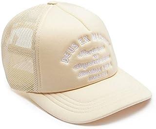 DEUS EX MACHINA (デウス エクス マキナ) メッシュキャップ 帽子 ADDRESS TOKYO TRUCKER - CREAM DMP77641E