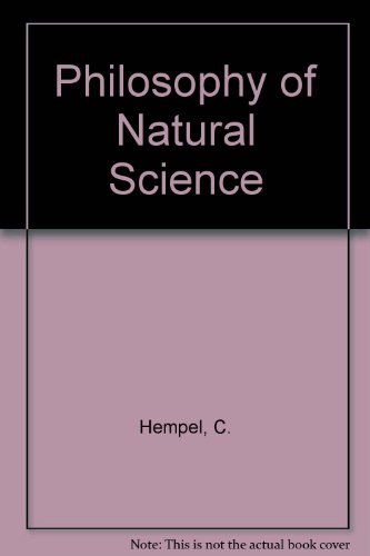 Philosophy of natural science (Prentice-Hall foundations of philosophy series)