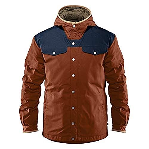 FJÄLLRÄVEN Greenland No. 1 Down Jacket M Veste de Sport Homme, Autumn Leaf/Night Sky, FR : L (Taille Fabricant : L)