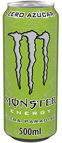 Monster Ultra Paradise - Bebida energética, sin azúcar - Lata 500ml