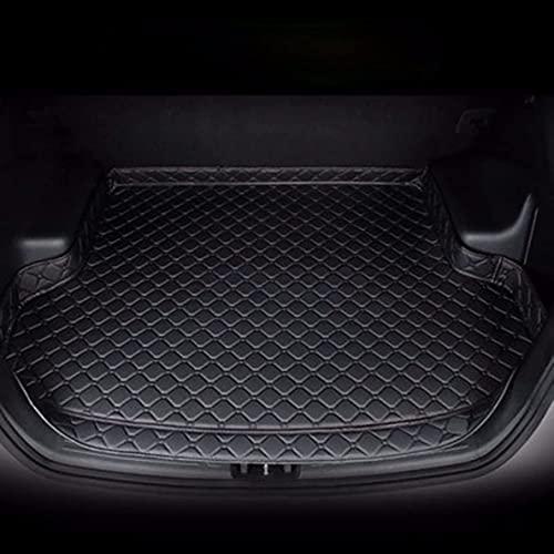 Alfombrilla Cuero para Maletero de Coche para Ford Focus Hatchback 2006-2011, Accesorios Alfombras Impermeables a Prueba de RasguñOs para El AutomóVil, Cuero Alfombrillas Maletero Protector