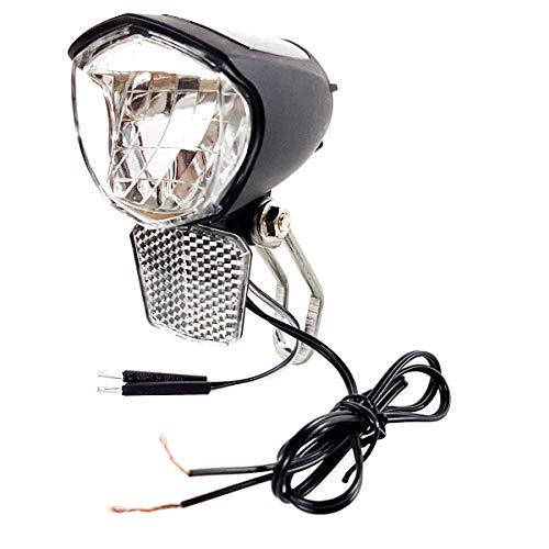 Resul Fahrrad LED Scheinwerfer 70 Lux Vorderlicht mit Helligskeitssensor und Standlicht