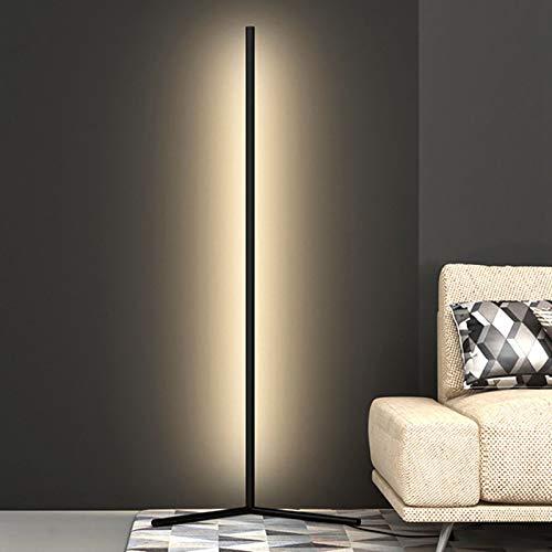 Izzya Lámpara De Pie De Esquina De Pared LED Moderna Lámpara De Pie Lineal Minimalista Sala De Estar Dormitorio Iluminación Tenue Lámpara Decorativa