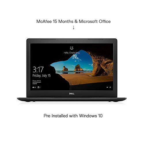 Dell i3567-5185BLK-PUS Inspiron, 15.6' Laptop, (7th Gen Core i5 (up to 3.10 GHz), 8GB, 1TB HDD) Intel HD Graphics 620, Black