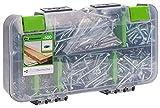 STANDERS - Set mit 500 Schrauben - Stahl - Pozidriv - Senkkopf - Ø3xL12/Ø3xL16/Ø4xL20/Ø4xL30/Ø4xL40/Ø5xL30/Ø5xL50mm
