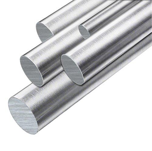 Edelstahl Rundstahl Vollmaterial Stabstahl V2A 1.4301 kaltgezogen blank 5,0mm x 1000mm