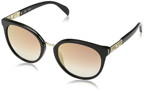Tous Damen STO997 Sonnenbrille, Schwarz (Shiny Black)