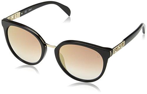 TOUS STO997-53700G Gafas, negro - negro, 53/20/140 para Mujer