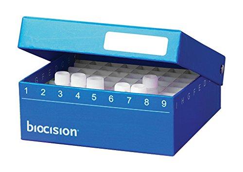 Biocision BCS-207B Max 76% OFF Blue TruCool Fees free Hinged of Pack Cryobox 50