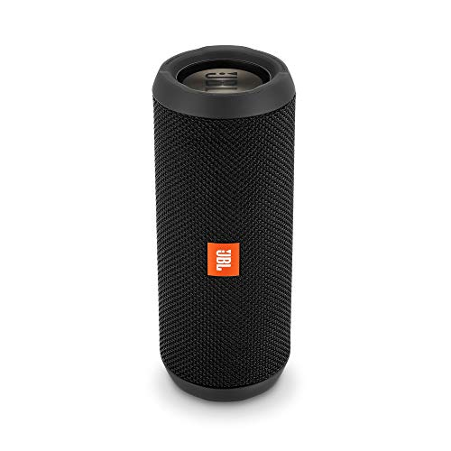 JBL Flip 3 Speaker Bluetooth, Portatile, Ricaricabile, Vivavoce, JBL Bass Radiator, Compatibile con Smartphone/Tablet e Dispositivi MP3, Black Edition