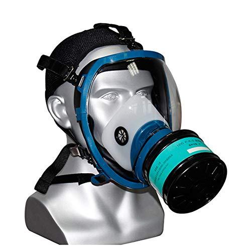 Sluier, Professioneel Chemisch Allesomvattend Masker, Bolvormig gasmasker, gasdicht, speciaal voor de bescherming van de openbare veiligheid