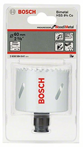 Bosch Professional Lochsäge Progressor mit Power-Change-Adapter (Ø 60 mm)