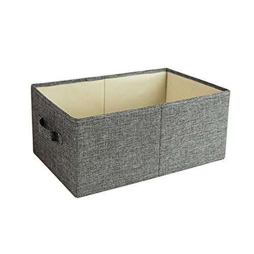 Wäschekorb, oben offen, Aufbewahrungsbox mit Griff vorne, zusammenklappbar, für Kleidung, Spielzeug und mehr, nicht null, Wie abgebildet, Large