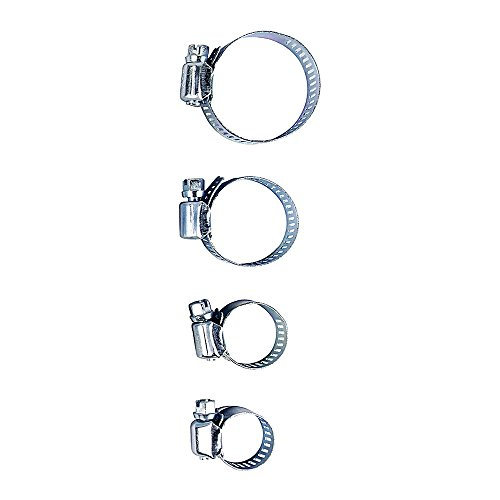 EASY WORK Travail Simple Tuyau Clamps-Set 30 pièces, Argent, 28 x 28 x 18 cm, 262929