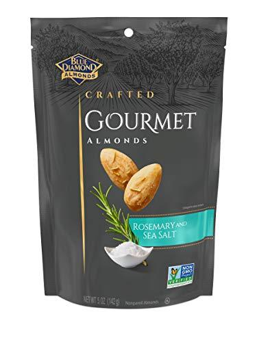Blue Diamond Almonds, Gourmet Rosemary and Sea Salt, 5 Ounce